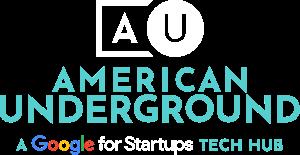 American Underground - a Google tech hub logo