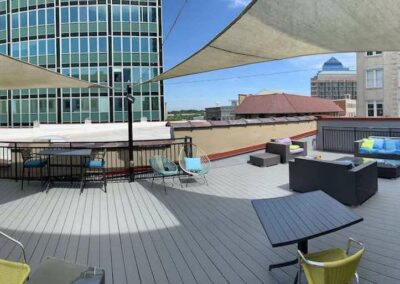 AU @Main Rooftop Patio | Shared space for coworking, outdoor meetings, and special events